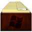 Windows Explorer Wood Icon