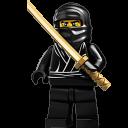 Lego Ninja Black 2-128