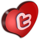 Twitter Cuore-128