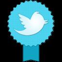 Badge Twitter-128
