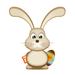 Easter bunny rss egg