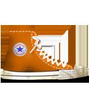Converse Orange dirty-128