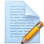 document pencil icon
