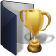 Folder Blue Award icon