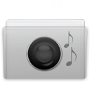 Folder Music Graphite