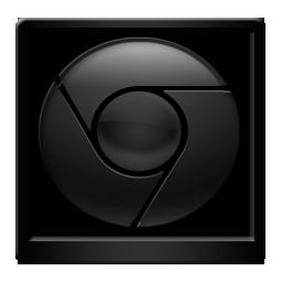 Black Google Chrome