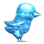 Crystal Twitter Bird icon