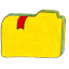 Folder y bookmarks 2 icon