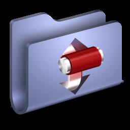 Torrents Blue Folder