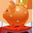 Piggybank orange-48