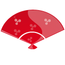 Fan red-128