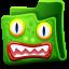 Creature Green Folder icon