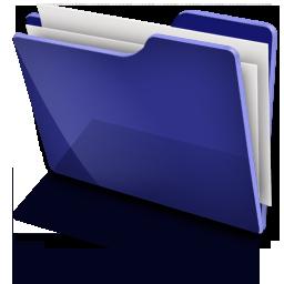TFolder Blue  Full