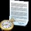 Document Clock icon