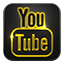 Youtube neon glow Icon