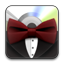 Bowtie rounded icon