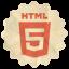 Retro Html5 icon