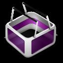 Cart purple-128