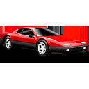Classic car red-128