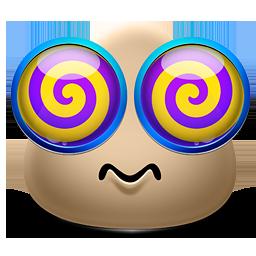 Emoticon Dizzy
