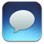 Messages Blue icon