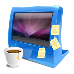 Blue computer