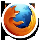 Round Firefox