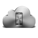 Cloud Mobile Device Silver-128