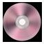 Light Pink Metallic CD icon