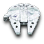 Millenium Falcon Star Wars icon