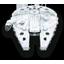 Millenium Falcon Star Wars icon