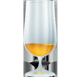Beerglass unfull