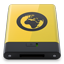HDD Yellow Server Icon