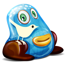 Twitter Monster Icon Download Feed Twitter Monster Icons Iconspedia