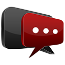 3D chat red-128