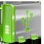 USB green icon