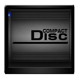 Black Compact Disc Drive