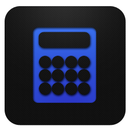 Calculator blueberry