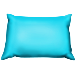 Blue Pillow