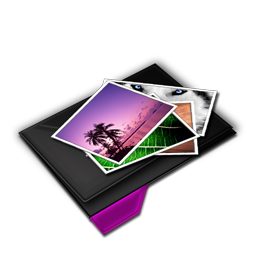 My Pictures Pile Purple