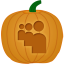Myspace Pumpkin icon
