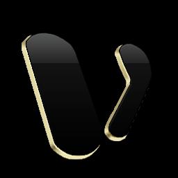 Microsoft Visio Black and Gold