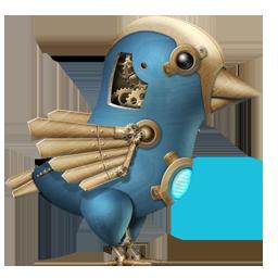 Steampunk Twitter Bird