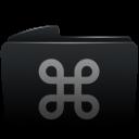 Folder black cmd-128