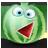 Watermelon emoticon-48