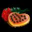 Chocolate heart roses-64