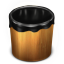 Trash Wood Empty icon