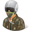 Pilotmilitary Male Light icon