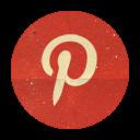 Retro Pinterest Rounded