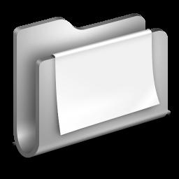 Documents Metal Folder